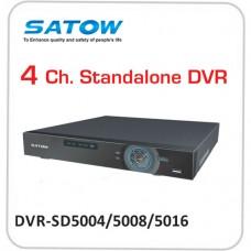4 / 8 / 16 Ch. Standard DVR