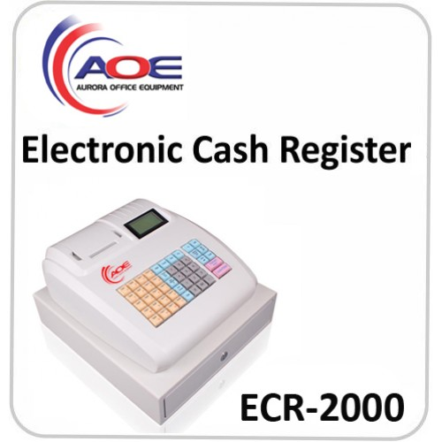 electronic cash register ecr 2000. Black Bedroom Furniture Sets. Home Design Ideas