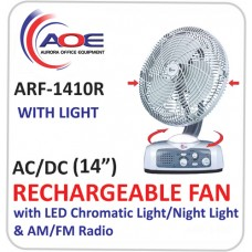 Rechargeable Fan ARF 1410R