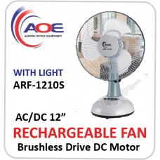 New Rechargeable FAN ARF 1210S