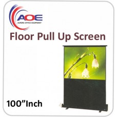 Floor Pull Up Screen 100 Inch