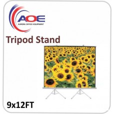 Tripod Screen Matte White 9x12FT