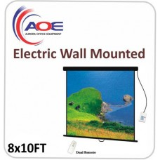 Electric Wall Mounted American Class Glass Fiber Aluminum Frame 10x8FT