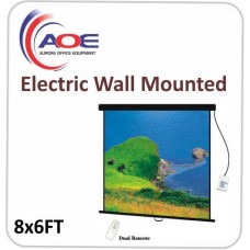 Electric Wall Mounted Matte White 8x6FT