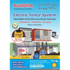Electric Fence System Package for 1 Kanal With GSM